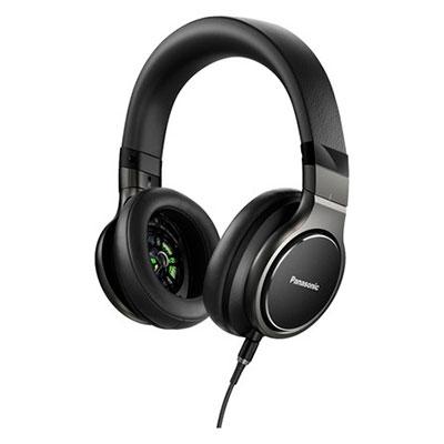 Panasonic ハイレゾ対応 ステレオヘッドホン RP-HD10 Black [RP-HD10-K]