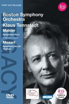 クラウス・テンシュテット/マーラー: 交響曲第4番、モーツァルト: 交響曲第35番《ハフナー》[ICAD5072]