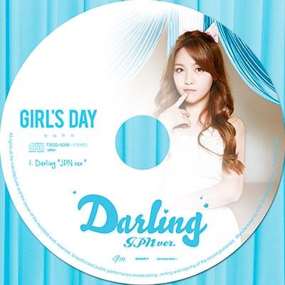 Girl's Day/Darling (JPN ver.) ミナ盤[TSGD-5006]