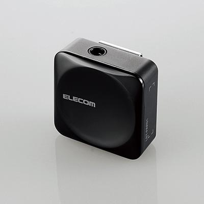 ELECOM Bluetoothレシーバー SMALL/ブラック [LBT-PAR01AVBK]