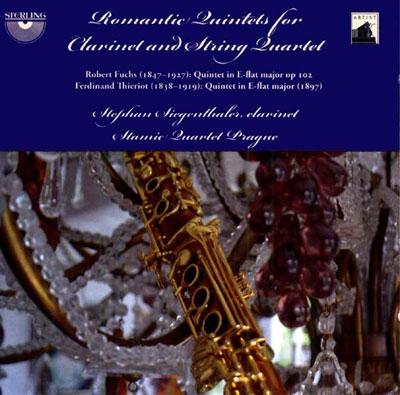 Romantic Quintets for Clarinet & String Quartet CD