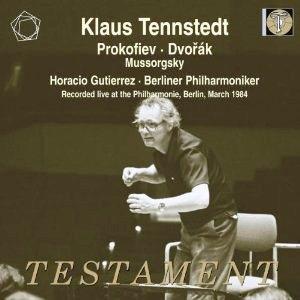 クラウス・テンシュテット/ムソルグスキー: 交響詩「禿山の一夜」(オリジナル版)、プロコフィエフ: ピアノ協奏曲第2番、ドヴォルザーク: 交響曲第9番「新世界より」[SBT21450]