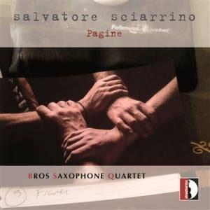ブロス・サクソフォン四重奏団/Salvatore Sciarrino: Pagine [STR37042]