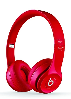 beats by dr.dre Solo2 オンイヤー・ヘッドホン RED