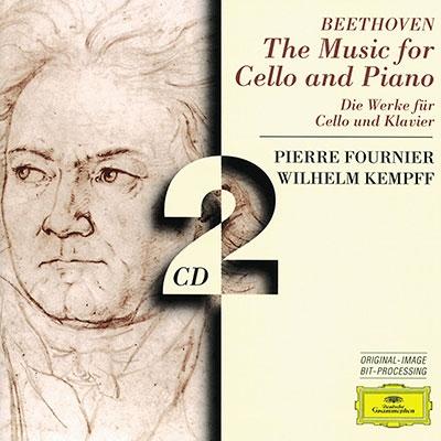ピエール・フルニエ/Beethoven: The Music for Cello and Piano -Cello Sonatas No.1-No.5, Variations WoO.46, etc (1965) / Pierre Fournier(vc), Wilhelm Kempff(p) [4530132]