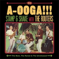 The Routers/A-Ooga!!! Stamp &Shake With The Routers<初回生産限定盤>[CDLUX008]
