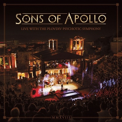 Live With The Plovdiv Psychotic Symphony [3CD+DVD]<完全生産限定盤> CD
