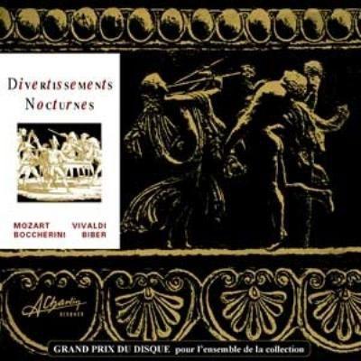 ヘルムート・ミュラー=ブリュール/モーツァルト: セレナード第6番「セレナータ・ノットゥルナ」、ヴィヴァルディ: フルート協奏曲「夜」 RV439、ボッケリーニ: 「マドリードの通りの夜