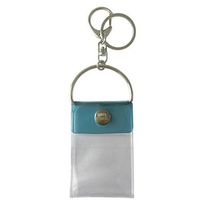 タワレコ 缶バッジキーホルダー Blue Accessories