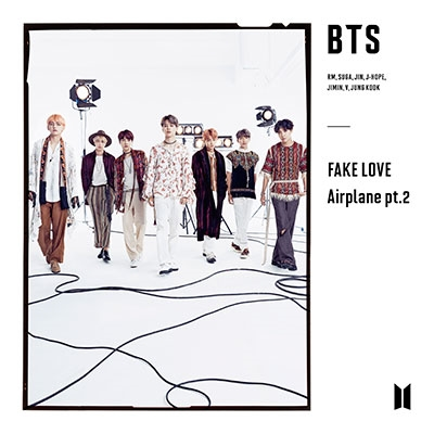 FAKE LOVE/Airplane pt.2 [CD+フォトブックレット]<初回限定盤C> 12cmCD Single