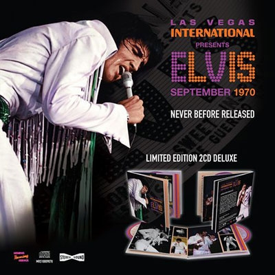 Las Vegas International Presents Elvis - September 1970 [CD+BOK]