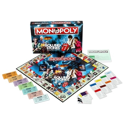 THE ROLLING STONES Monopoly Accessories