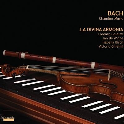 ロレンツォ・ギエルミ/J.S.バッハ:室内楽作品集 BWV1034/1020/1028/1030[PAS942]