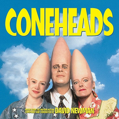 David Newman (Film Composer)/Coneheads / Talent For The Game / The Itsy Bitsy Spider[INTRADA318]