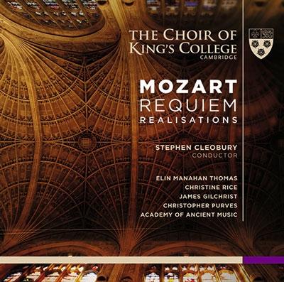 スティーヴン・クレオバリー/Mozart: Requiem (Realisations) [SACD Hybrid+CD][KGS0002]
