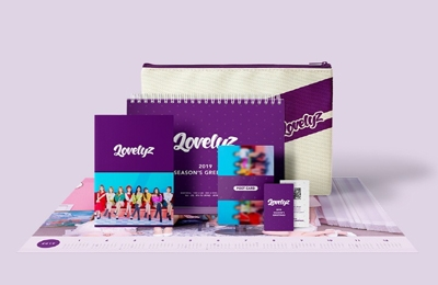 LOVELYZ 2019 SEASON'S GREETINGS [CALENDAR+GOODS] Book