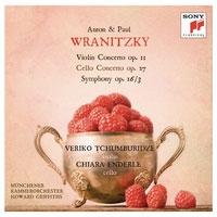 ハワード・グリフィス/A.Wranitzky: Violin Concerto Op.11; P.Wranitzky: Cello Concerto Op.27, Symphony Op.16-3[88875127122]