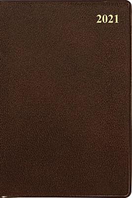 高橋書店 手帳は高橋 ビジネス手帳 〈小型版〉 2 [茶] 手帳 2021年 手帳判 ウィークリー 皮革調 茶 No.142 (2021年版1月始まり)[9784471801427]