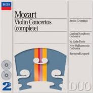 アルテュール・グリュミオー/Mozart: Violin Concertos No.1-5, Sinfonia concertante K.364, etc[4383232]