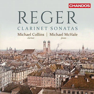 Reger: Clarinet Sonatas CD