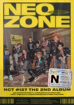 NCT#127 Neo Zone: NCT 127 Vol.2 (N Ver.) CD