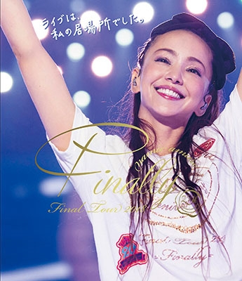 namie amuro Final Tour 2018 ~Finally~ (東京ドーム最終公演+25周年沖縄ライブ)<通常盤> Blu-ray Disc