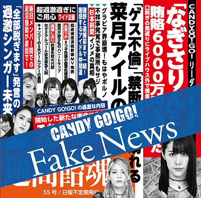 CANDY GO! GO!/Fake News<Type-B>[RVM-012]