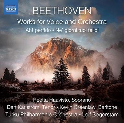 レイフ・セーゲルスタム/ベートーヴェン: 管弦楽伴奏付きの声楽作品集[8573882]