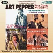 Art Pepper/Four Classic Albums (The Return Of Art Pepper/Modern Art/Art Pepper Meets The Rhythm Section/The Art Pepper Qu[AMSC962]