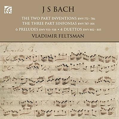 ウラディミール・フェルツマン/J.S.Bach: Inventions & Sinfonias, etc[NI6223]
