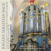 ベン・ヴァン・オーステン/J.S.バッハ: 幻想曲とフーガ BWV.542、トリオ・ソナタ第5番 BWV.529、シンフォニア BWV.29(マルセル・デュプレ編)、他[MDG31601272]