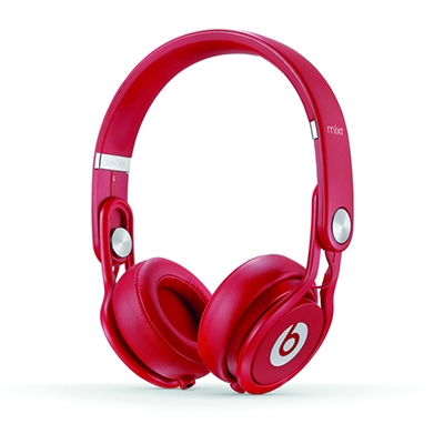 beats by dr.dre Mixr オンイヤーヘッドフォン Red