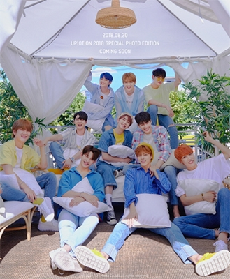 UP10TION 2018 SPECIAL PHOTO EDITION [BOOK+CD] Book