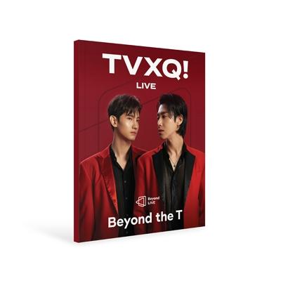 Beyond LIVE BROCHURE TVXQ! [Beyond the T] Book