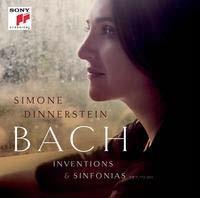 シモーネ・ディナースタイン/J.S.Bach: Inventions & Sinfonias BWV.722-BWV.801[88883795972]