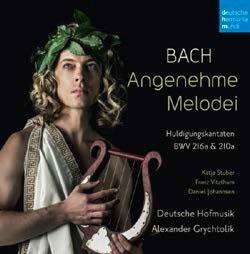 アレクサンダー・グリヒトリーク/J.S.Bach: Angenehme Melodei (Huldigungskantaten, BWV 216a &210a)[88985410522]