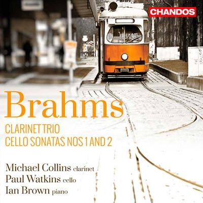 マイケル・コリンズ/Brahms: Clarinet Trio, Cello Sonatas No.1, No.2 [CHAN10825]
