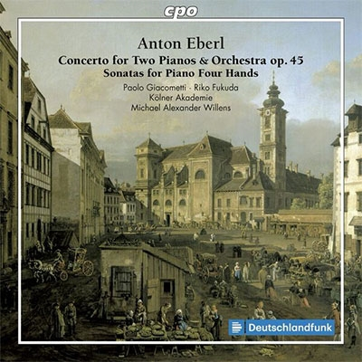 パオロ・ジャコメッティ/Anton Eberl: Concerto for Two Pianos ...