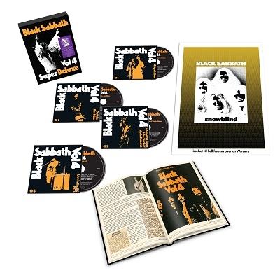 ブラック・サバス4【スーパー・デラックス・エディション】 [4CD+ハードカヴァー・ブックレット+ポスター CD