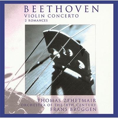 ベートーヴェン:ヴァイオリン協奏曲、ロマンス第1番・第2番<限定盤> UHQCD