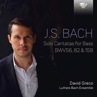 デイヴィッド・グレコ/J.S.バッハ: バス独唱のためのカンタータ集[BRL95942]
