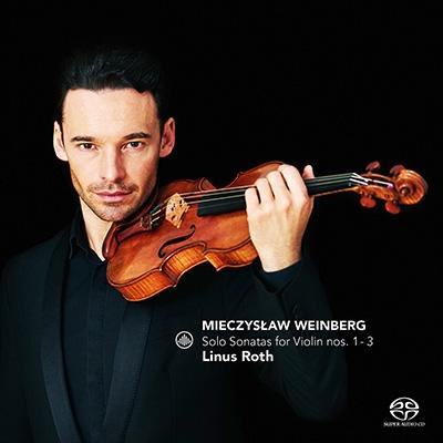 ヴァインベルク: 無伴奏ヴァイオリン・ソナタ第1番、第2番、第3番、ショスタコーヴィチ: 3つの幻想的舞曲 SACD Hybrid