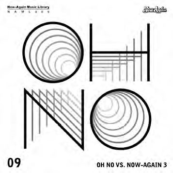 Oh No/Now Again Music Library Vol.9: Oh No vs. Now Again 3[NAML009CD]