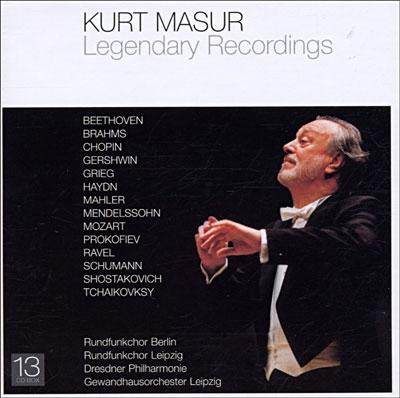 Kurt Masur - Legendary Recordings