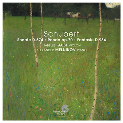 イザベル・ファウスト/シューベルト: 幻想曲 D.934、ヴァイオリンとピアノのための二重奏曲 D.574、ロンド D.895[HMC901870]