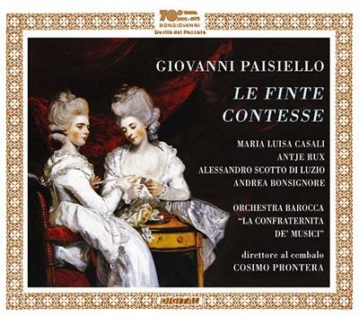 コジモ・プロンテラ/Giovanni Paisiello: Le Finte Contesse