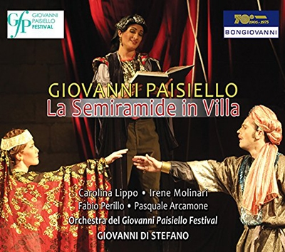 ジョヴァンニ・ディ・ステーファノ/Giovanni Paisiello: La Semiramide ...