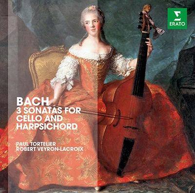 ポール・トルトゥリエ/J.S.Bach: Cello Sonatas BWV.1027, BWV.1028, BWV.1029[2564641902]