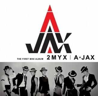 2MYX: A-JAX 1st Mini Album CD