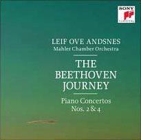 レイフ・オヴェ・アンスネス/The Beethoven Journey - Piano Concertos No.2 &No.4[88883705482]